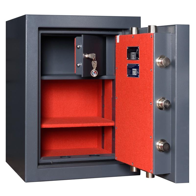 Fire and Burglar resistant safe CLE LUX ECBS II 68 KL + EL