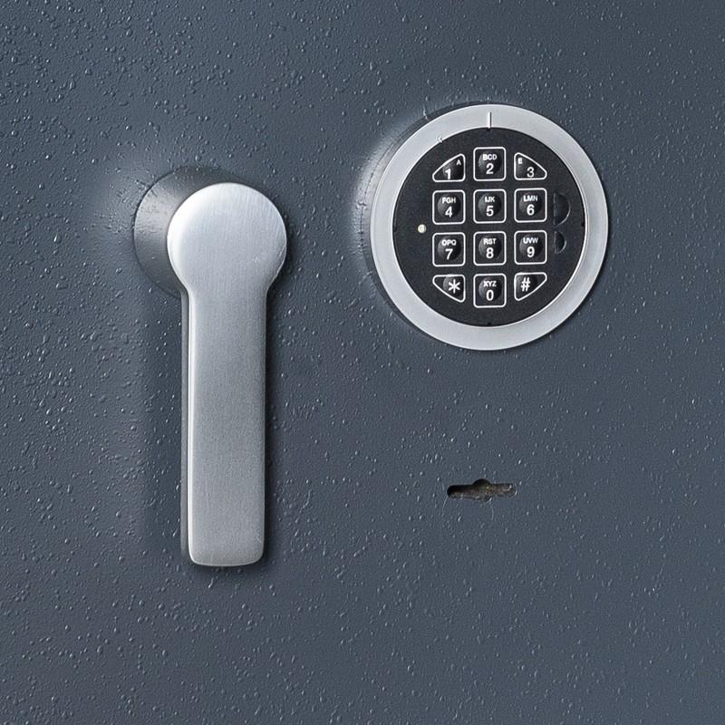 Fire and Burglar resistant safe CLE LUX ECBS II 120 KL + EL