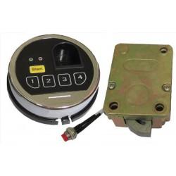 Zamek Biometryczny do sejfów, szyfrowy elektroniczny  kodowy + odcisk palca
