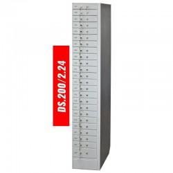 Skrytki depozytowe o połowie szerokości LOCKER DS.200/2.24