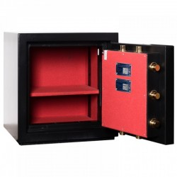 Fire and Burglar resistant safe BASTER CL.III.50 EL GOLD
