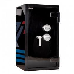 Fire and Burglar resistant safe Baster LUX BLACK CL.90 III Class