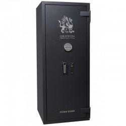Fire and Burglar resistant safe CLE ECBS II 150 KL + EL GRAFIT