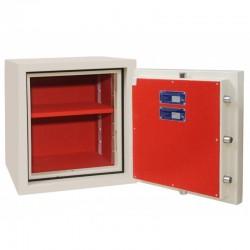 Fire and Burglar resistant safe BOSS CL.II.50 EL + KL CREAM