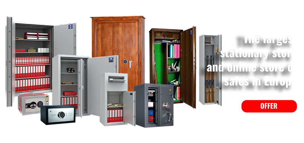 The largest  stationary store and online store of safes in Europe
